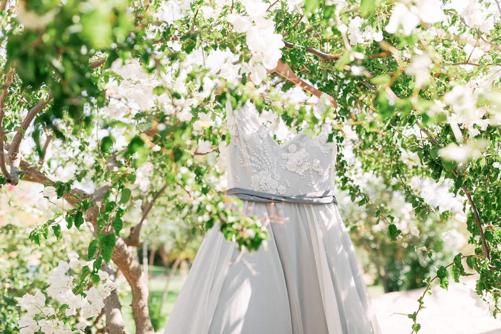 dress details for bride