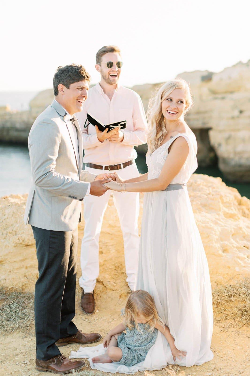 romantic vow ceremony