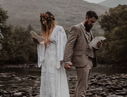 Elope in Scotland: Moody Elopement Inspiration