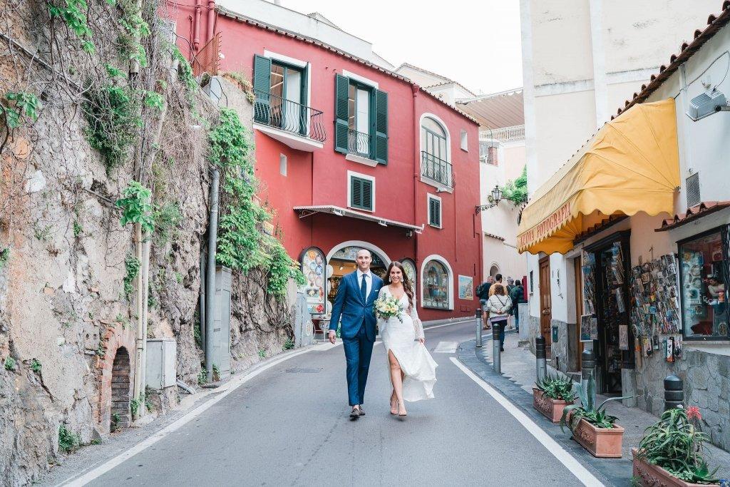 amalfi coast elopement portraits