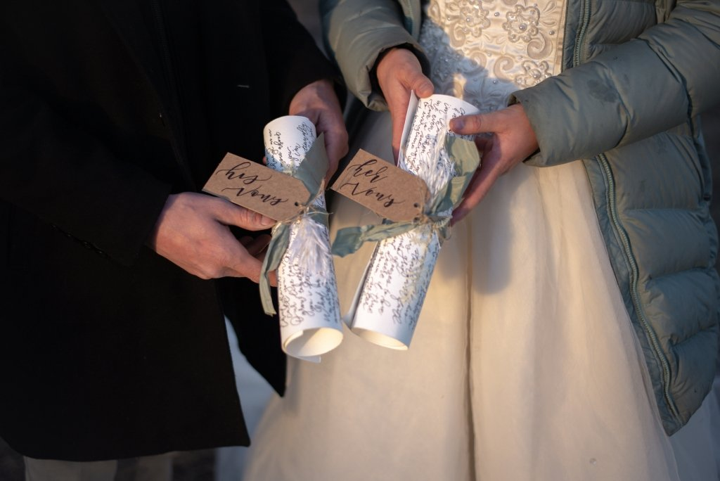 vow renewal on scrolls