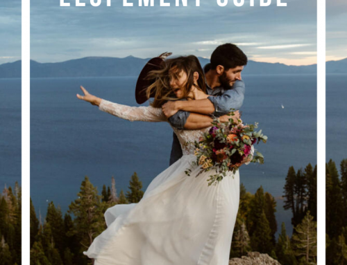 Lake Tahoe Elopement Guide