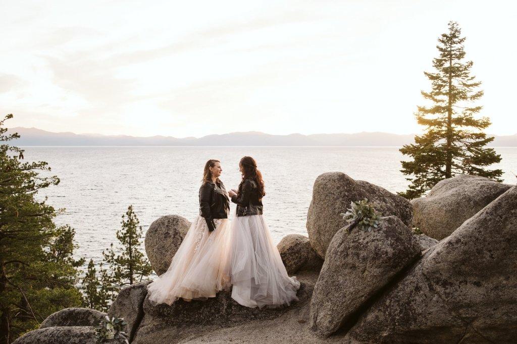Lake Tahoe elopement locations