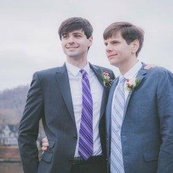lgbtq-winter-elopement-grooms