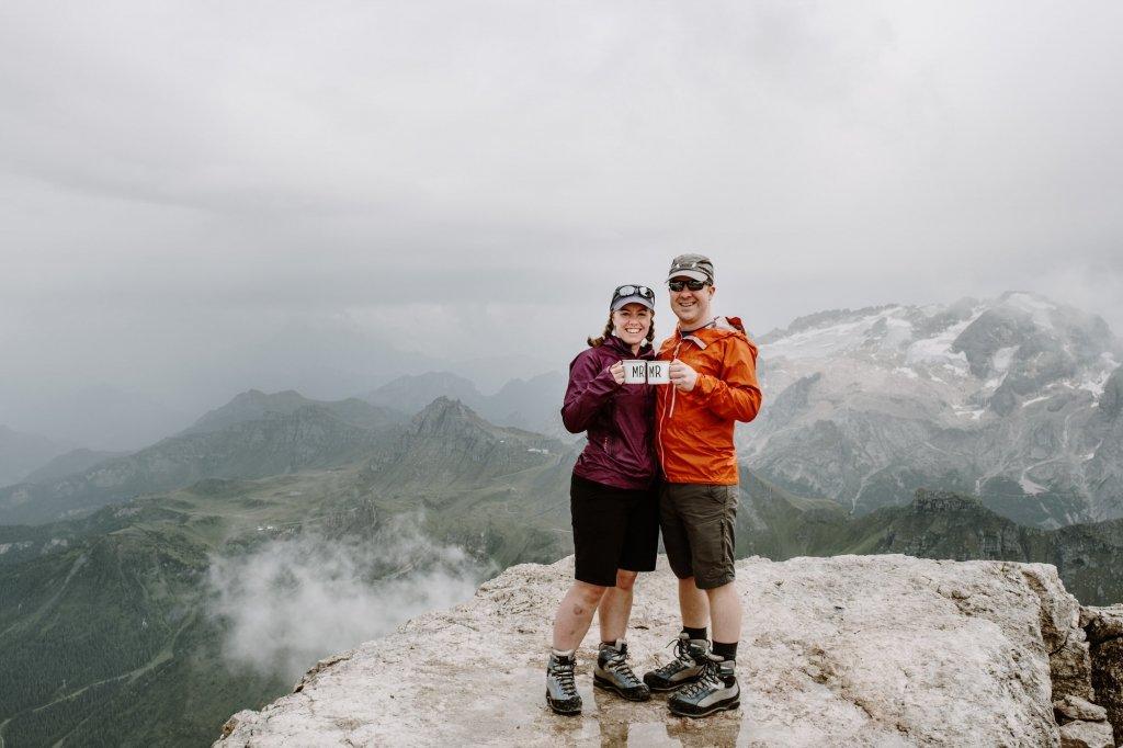 Dolomites elopement hike