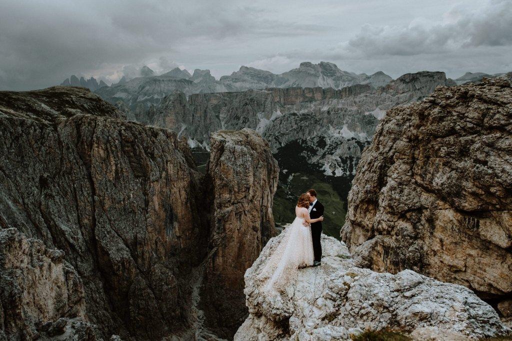 dolomites elopement adventure