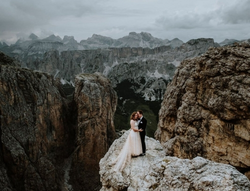 This Dolomites Elopement is Every Wanderer's Dream Come True