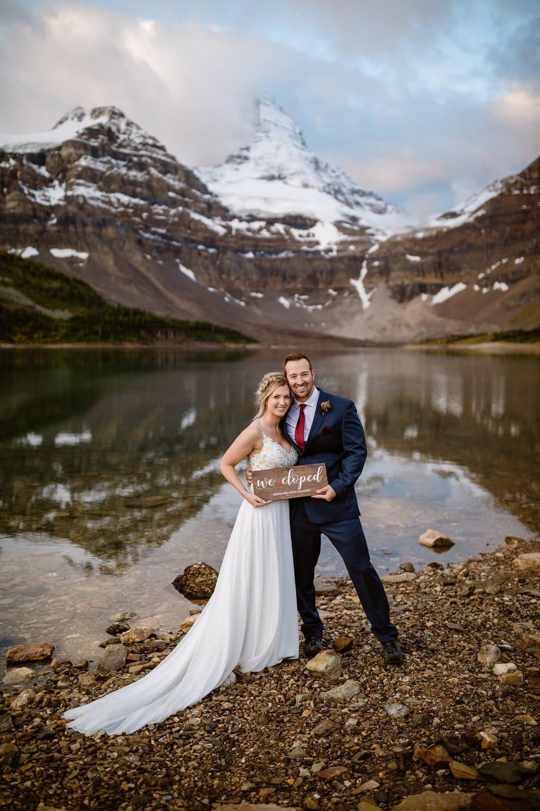 British Columbia elopement story