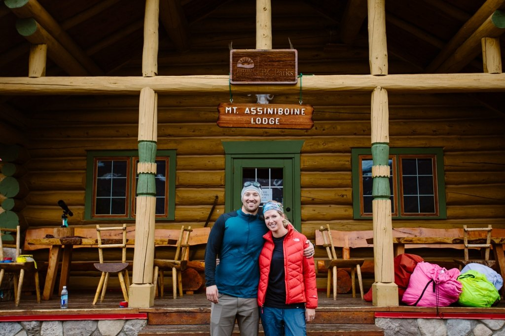 backcountry lodge elopement in BC