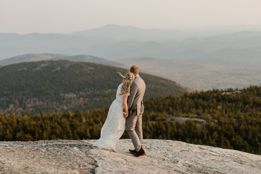 New Hampshire elopement on the mountains
