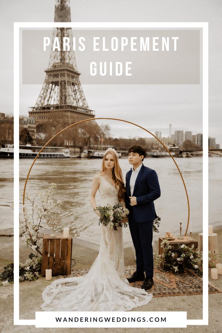 Paris elopement guide