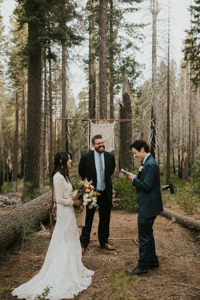 Yosemite vow reading
