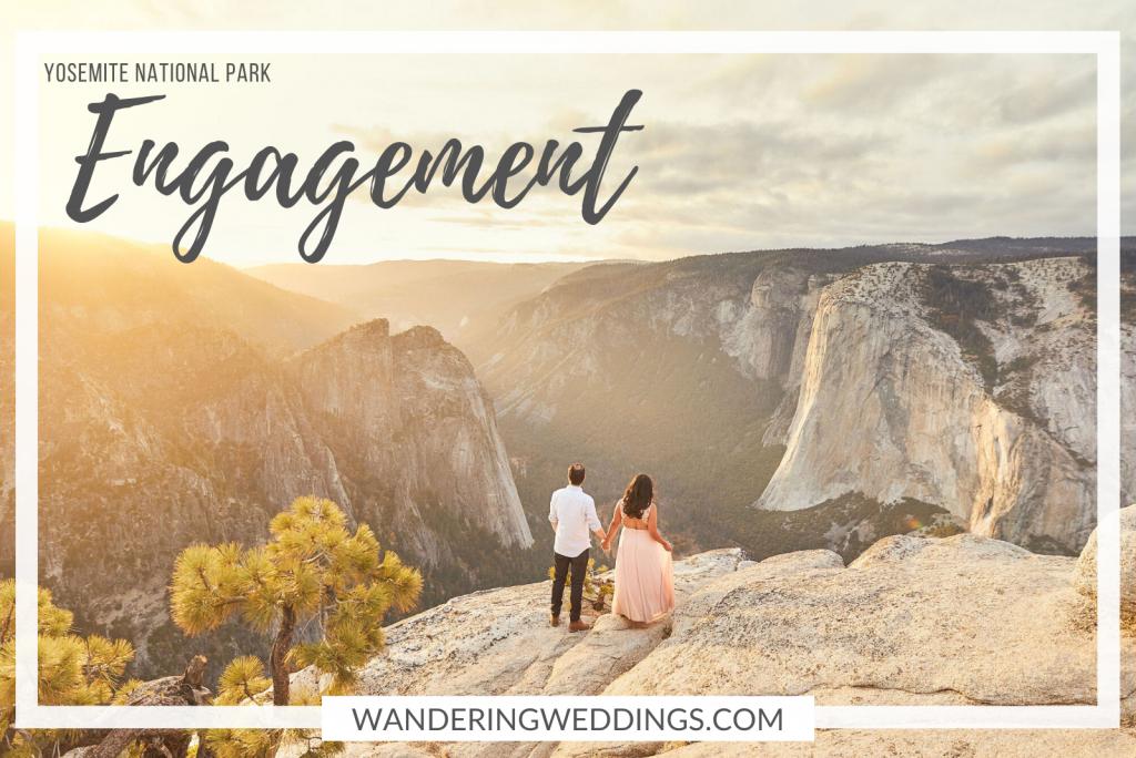 Yosemite engagement shoot