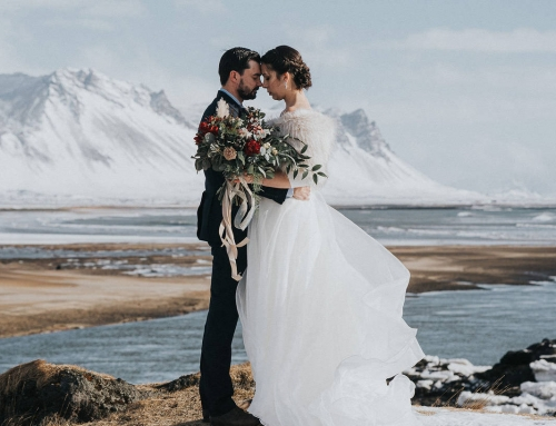 Adventurous Winter Iceland Elopement at Hotel Budir's Famous Black Church