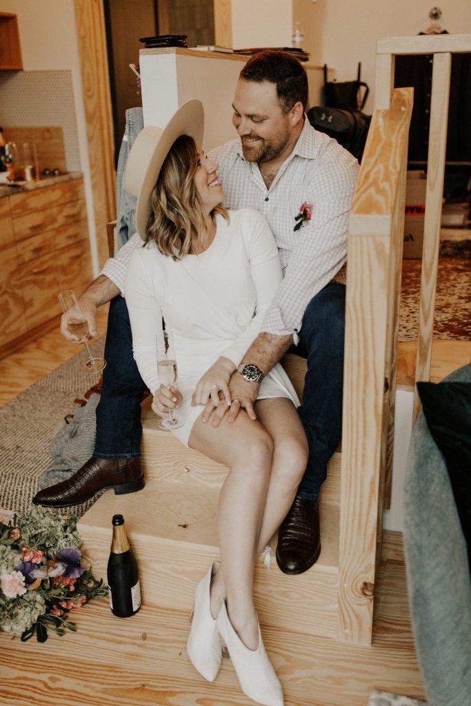 Airbnb elopement in Texas