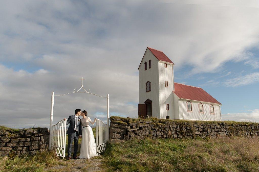 church wedding in Iceland