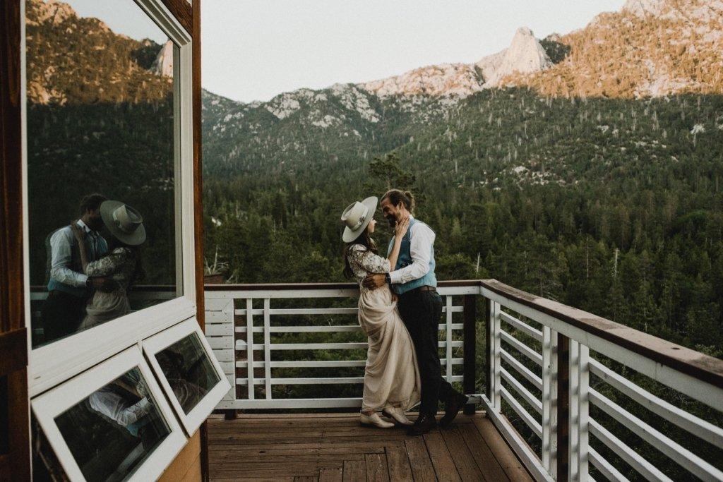 California airbnb wedding