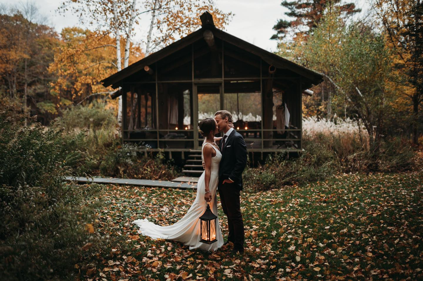 unique airbnb elopement stays for couples in new england