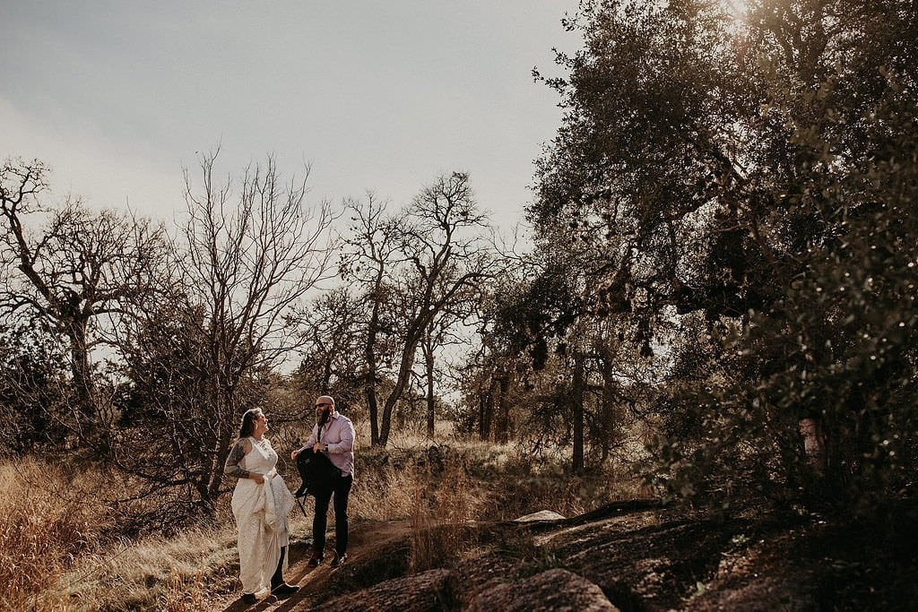 tips for eloping in enchanted rock