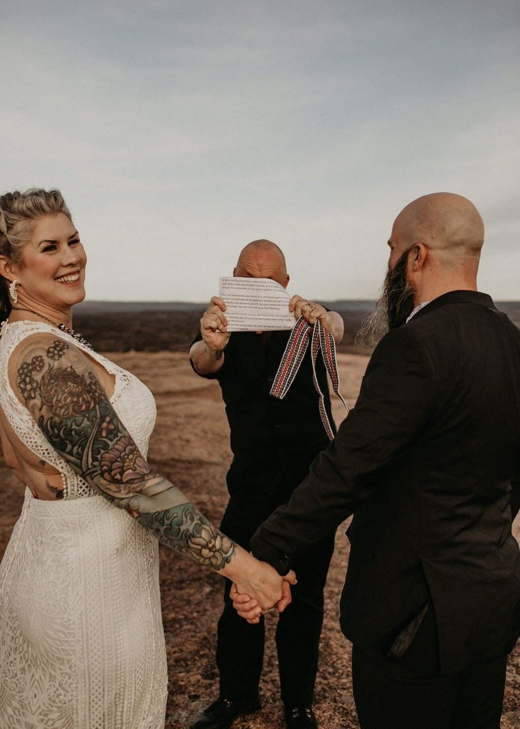what is a handfasting wedding ceremony