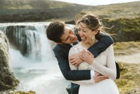 Small Iceland Wedding Mixing New Wedding Traditions and Old