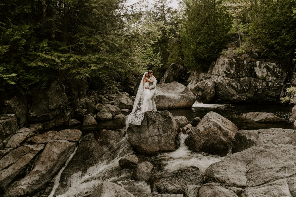 Adirondack elopement adventure