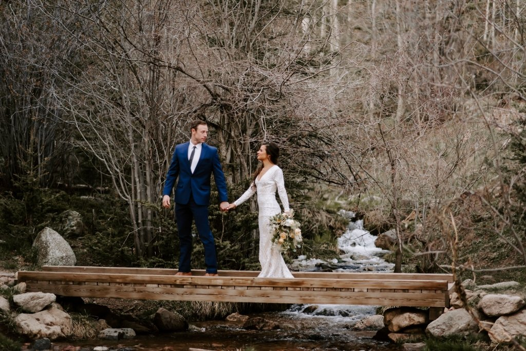 where to elope in Santa Fe mountains