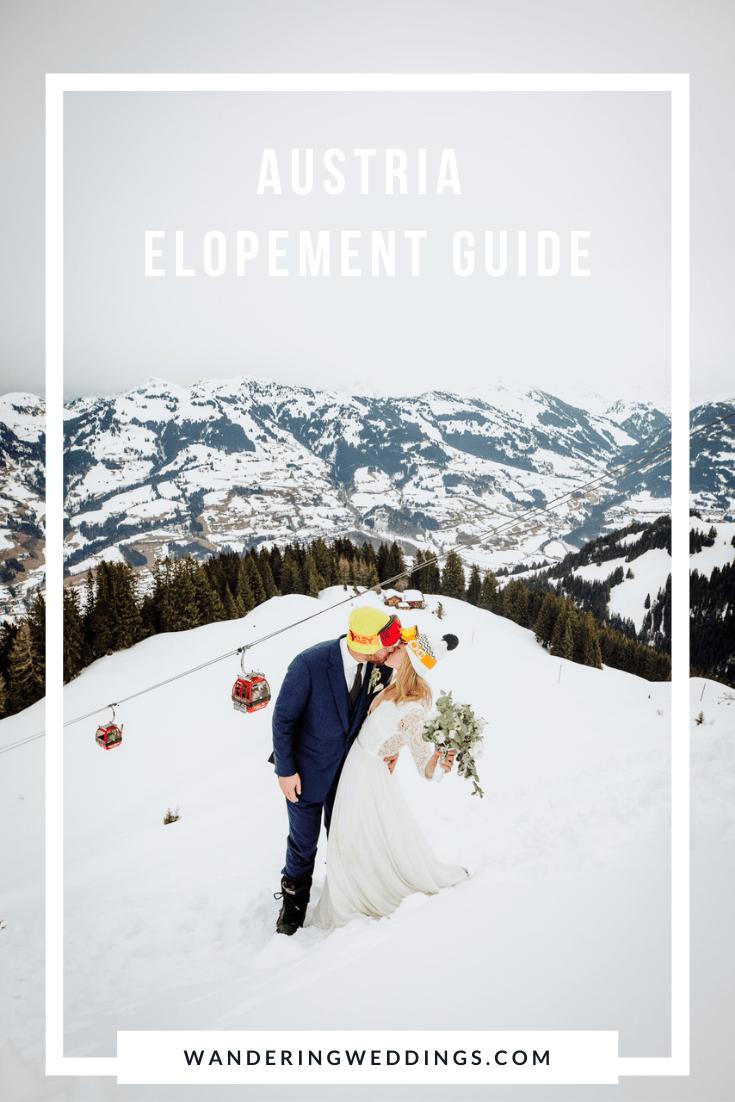 Austria wedding elopement planning guide