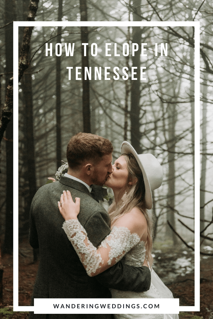 how to elope in Tennessee. Elopement guide with location tips and vendors.