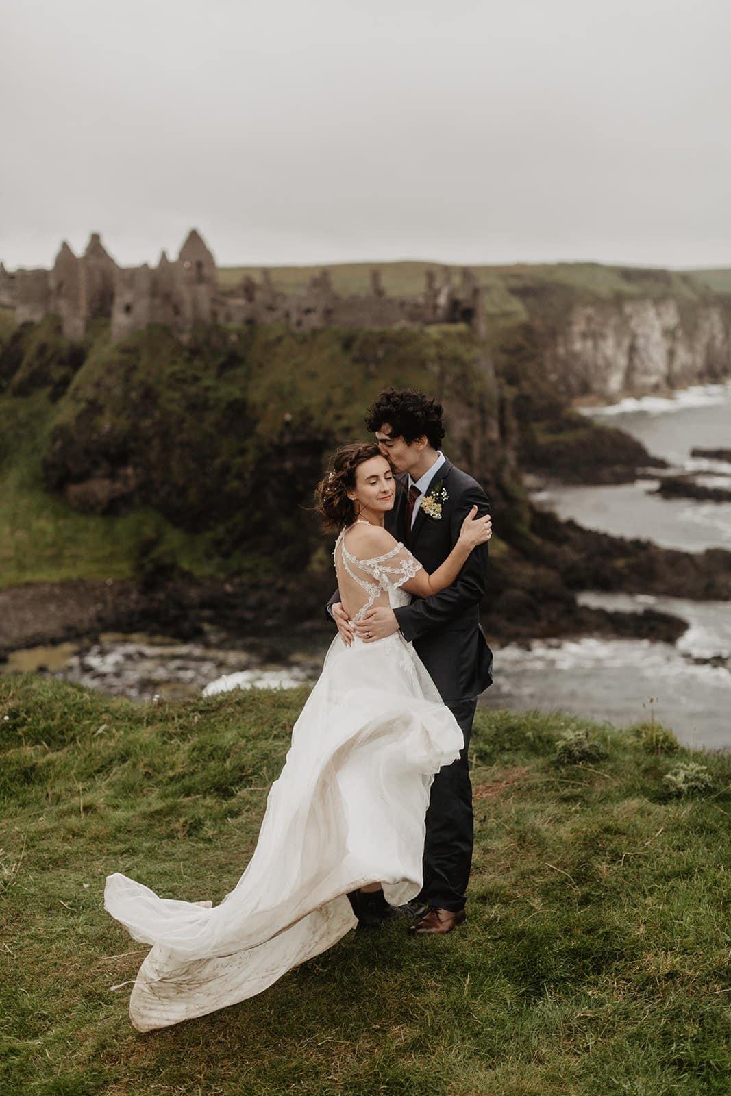 Dunluce Castle Elopement in Northern Ireland
