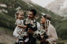 10 Year Vow Renewal at Maroon Bells in Colorado