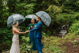 Romantic Oregon Forest Elopement