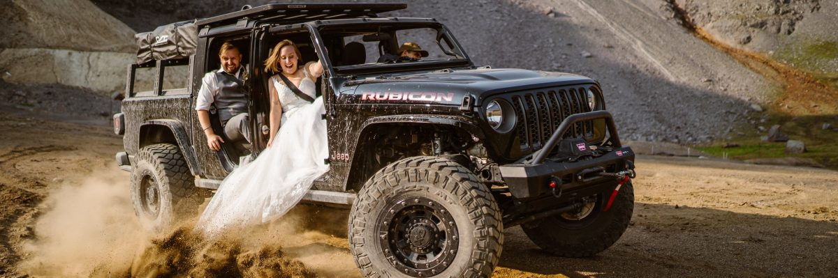 Jeeping Elopement in the Colorado Mountains