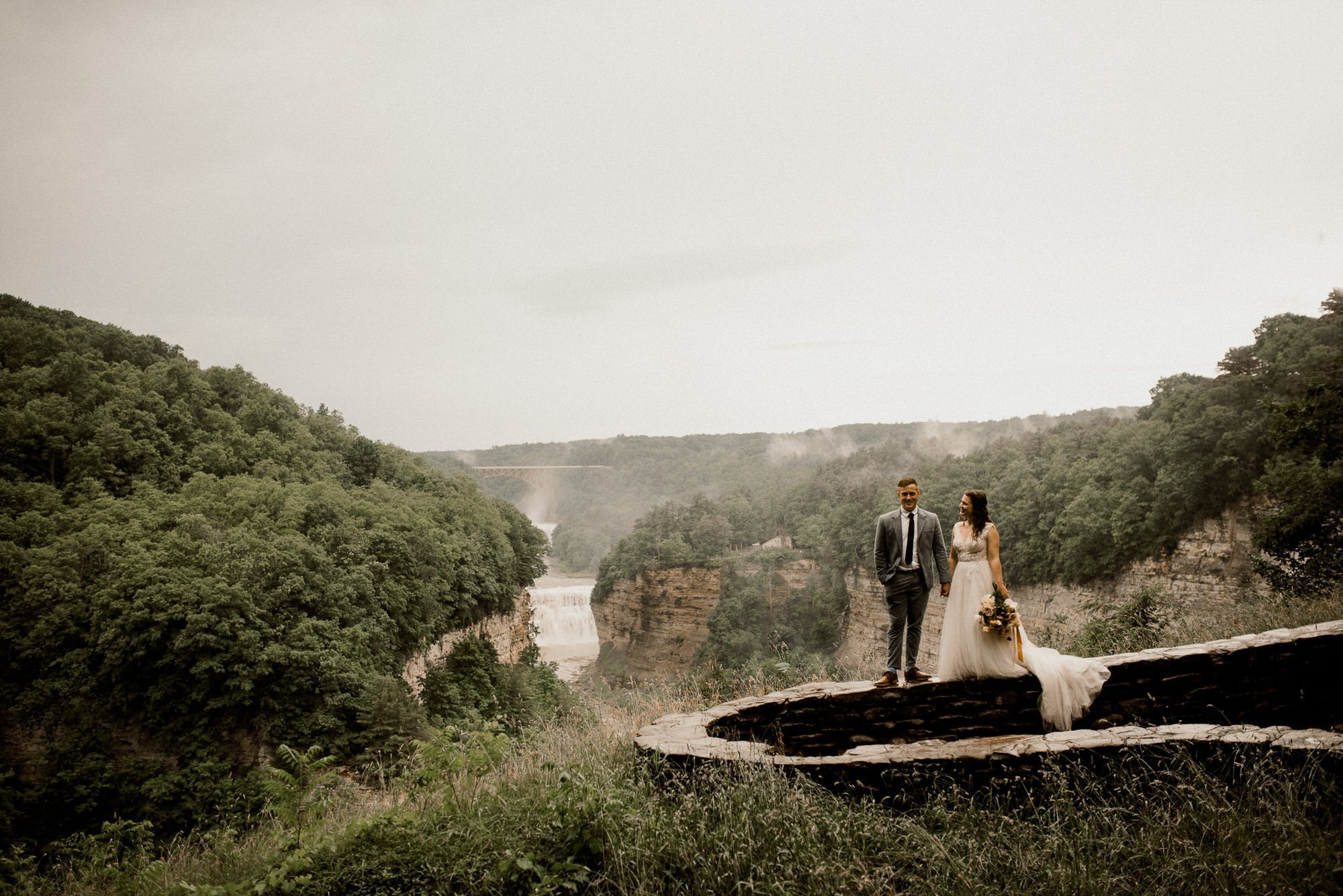 New York Elopement packages in Letchworth State Park