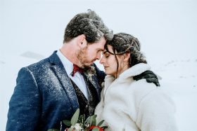 Winter Christmas Elopement in Beautiful Hallstatt, Austria