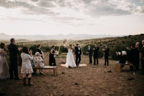 Emotional Texas Micro Wedding With Family and Friends