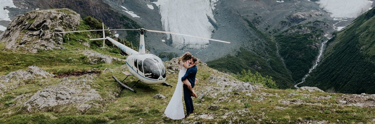 This Glacier Adventure Will Make You Want to Plan an Alaska Helicopter Elopement