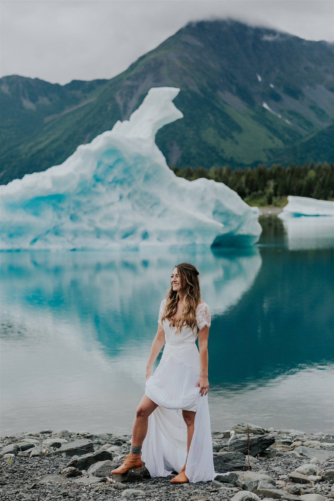 what to wear during your Alaska elopement