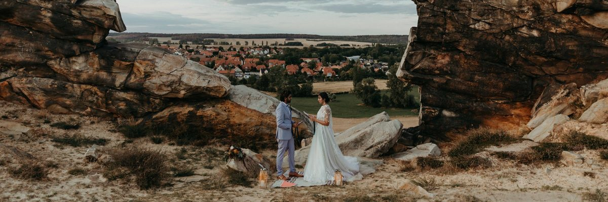 Elopement Adventure at Harz National Park in Germany