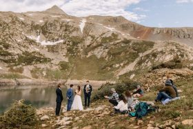 Adventurous Hike and Mountain Wedding Ceremony in Telluride, CO
