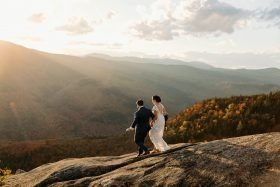 Gorgeous Fall Elopement in NH's White Mountains