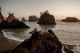 These Brides Planned An Oregon Beach Elopement And Announced It Over FaceTime