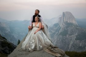This Couple Planned a Yosemite Elopement and Explored the Park in a Volkswagen Van Together