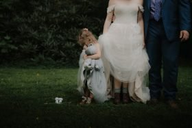 Couple Announced Pregnancy to Younger Daughter During Their Elopement in Montreat, NC