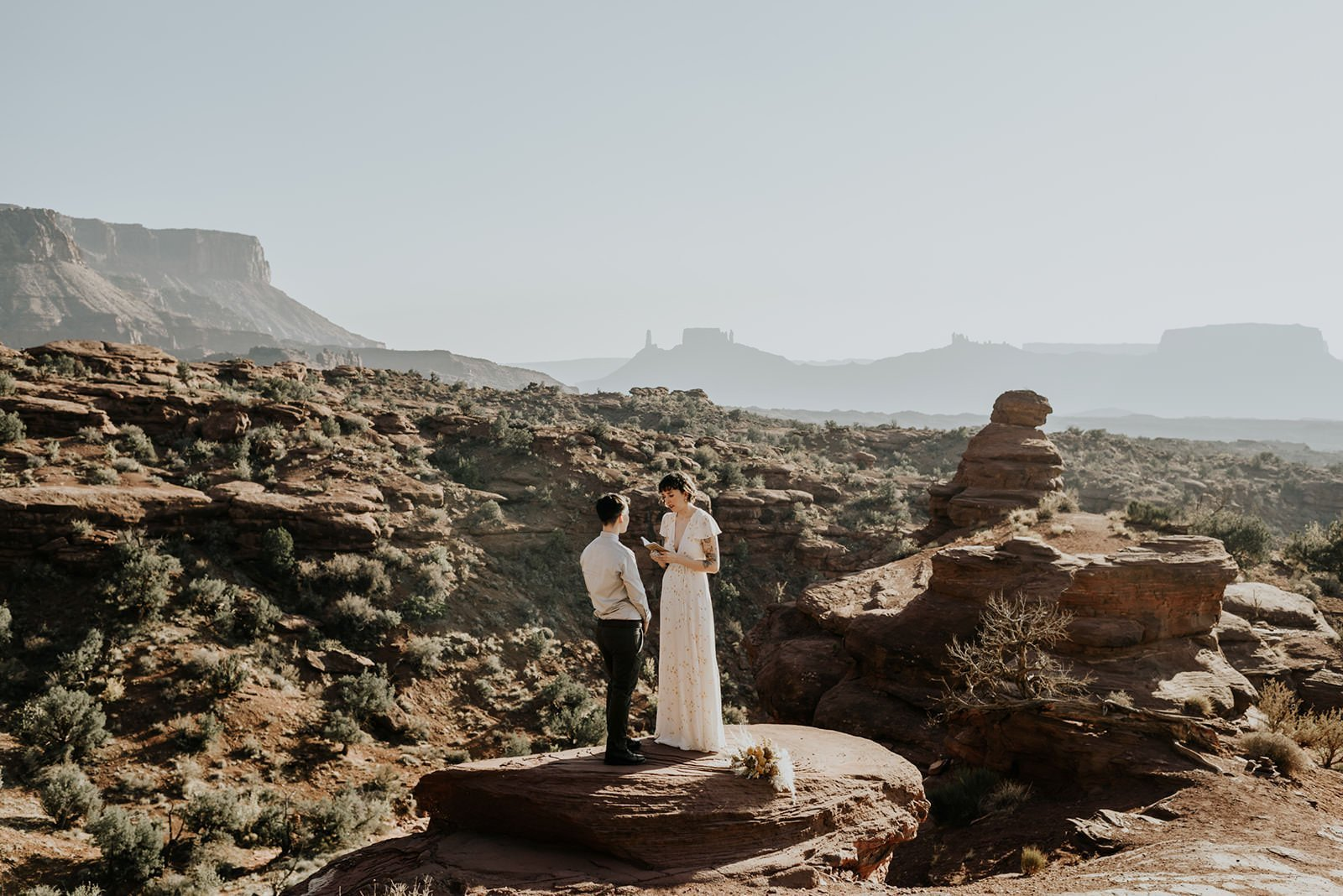 under canvas elopement and moab adventure