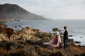 These Two Nurses Had The Most Emotional Big Sur Elopement Ceremony