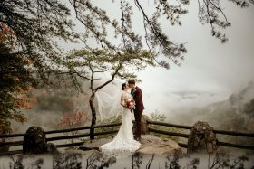 Fall Elopement in Cloudland Canyon
