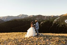 Sunrise Self-Uniting Ceremony in the Rocky Mountains