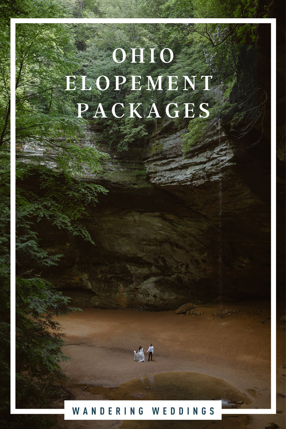 Ohio elopement packages featuring the best places to elope in Ohio and best elopement vendors
