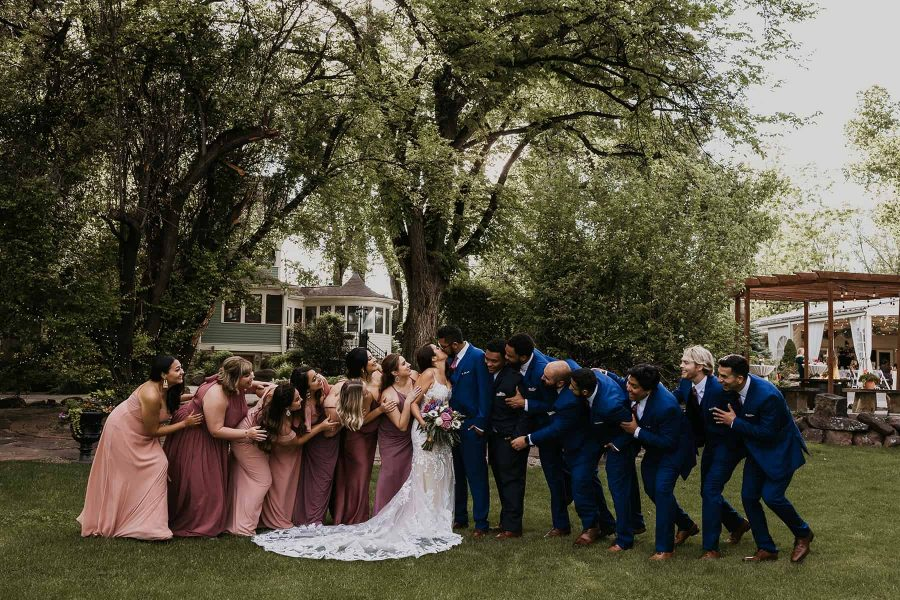 A wedding at Tapestry House, Laporte, CO by Wedgewood Weddings.